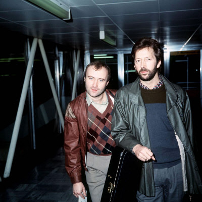phil-collins-with-eric-clapton1984-posters