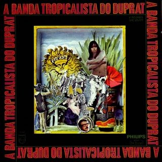 Capa A Banda Tropicalista Do Duprat